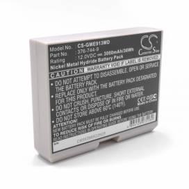 Produktbild: Akku für GE CardioServ, Hellige Defibrillator u.a. 12V, Ni-MH, 3000mAh