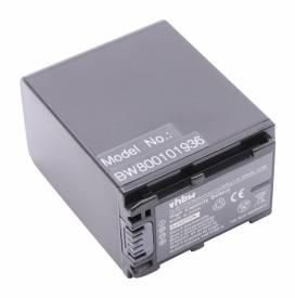 Produktbild: Akku für Sony wie NP-FV100 mit Infochip