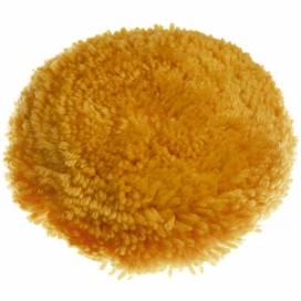 Produktbild: Polierscheibe Baumwolle, Hook & Loop, 6 Zoll (15,24cm), orange