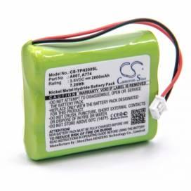 Produktbild: Akku für TPI Gas-Detektor HXG-2D u.a. 2000mAh