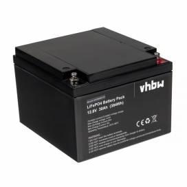 Produktbild: Lithium Eisenphosphat Akku für Wohnwagen, Boot, Solar-Anlage u.a. 30Ah, 12.8V