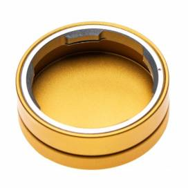 Produktbild: Metall Objektiv-Rückdeckel für Leica M System, gold