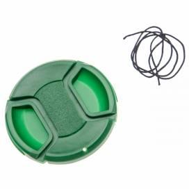 Produktbild: Objektivdeckel Innengriff grün 62mm