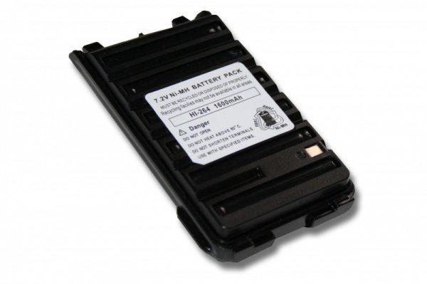 Produktbild: Akku für ICOM Funkgerät wie BP-264 1600mAh