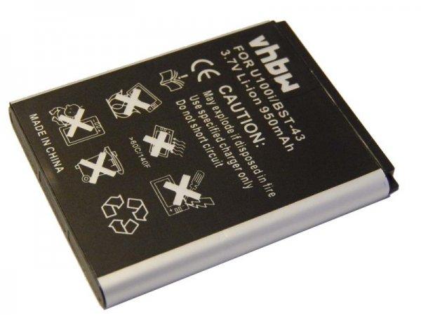 Imaginea produsului: Battery pentru SonyEricsson precum BST-43 950mAh